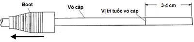 Hướng Dẫn bấm cáp mạng cat6 -3 mảnh