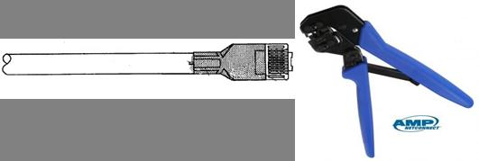 Đầu bấm mạng Cat6 AMP FTP