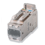 COMMSCOPE/AMP-TWIST SL-Series Modular Jack, category 6AS, shielded, 8-position, without dust cover