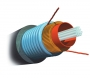 AMP Fiber Optic Cable, Outside Plant, 4-Fiber, MM 50/125µm, Armored Jacket